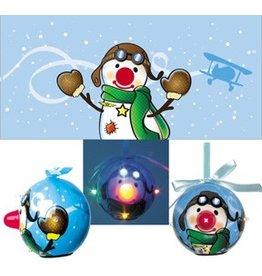 SNOWMAN PILOT / LED ORNAMENT