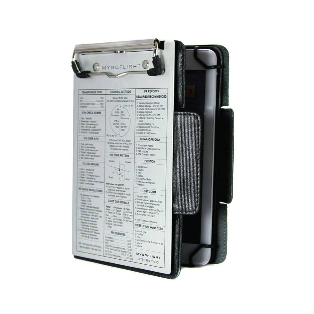 e2071daf08c MGF iPad mini Universal Kneeboard Folio C - Pilot Outfitters