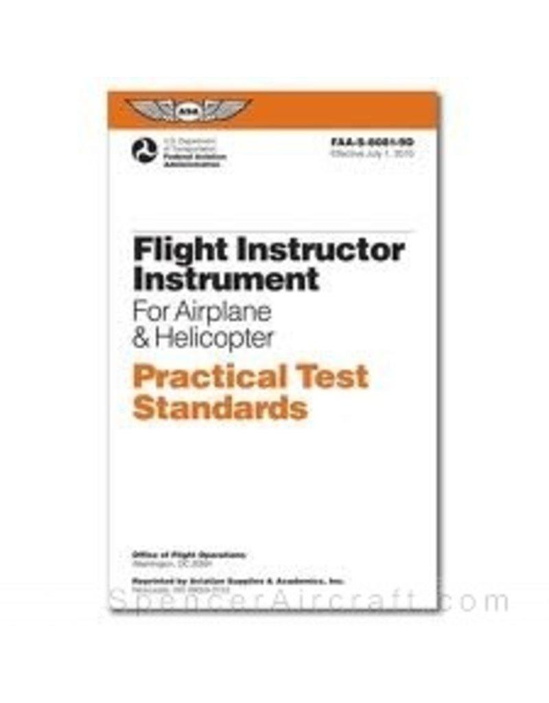 FAA ASA 8081-9D CFII PTS