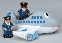 AIRPLANE TUB TOY