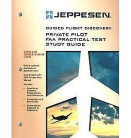 JEPPESEN JEPPESEN Private Pilot FAA Practical Test Study Guide