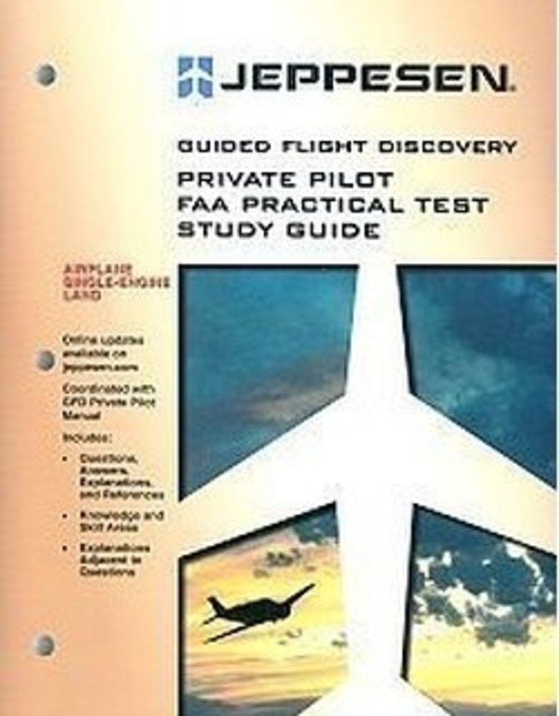 JEPPESEN JEPPESEN Private Pilot FAA Practical Test Study Guide