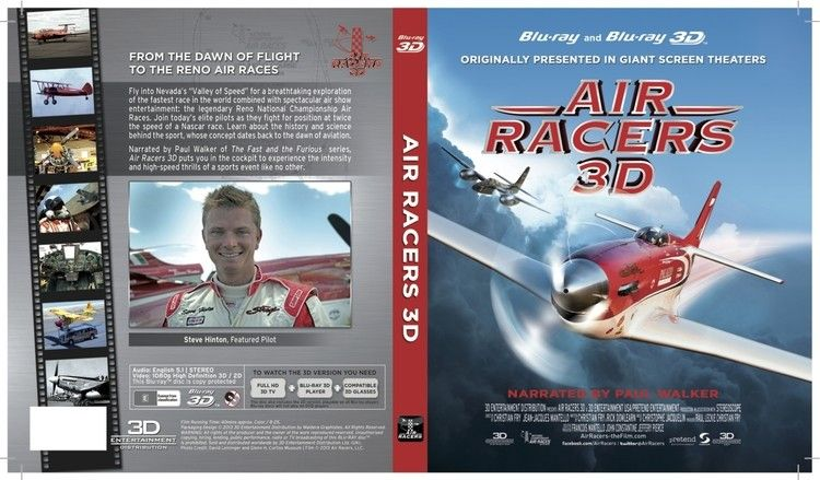 Air Racers 3D DVD
