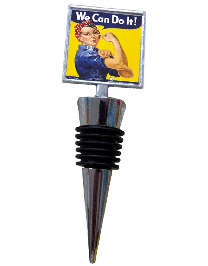 Rosie The Riveter Bottle Stopper