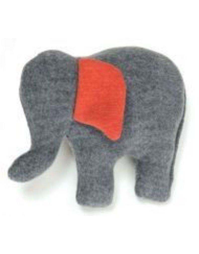 """Ella 8"""" Elephant Dog Toy"""