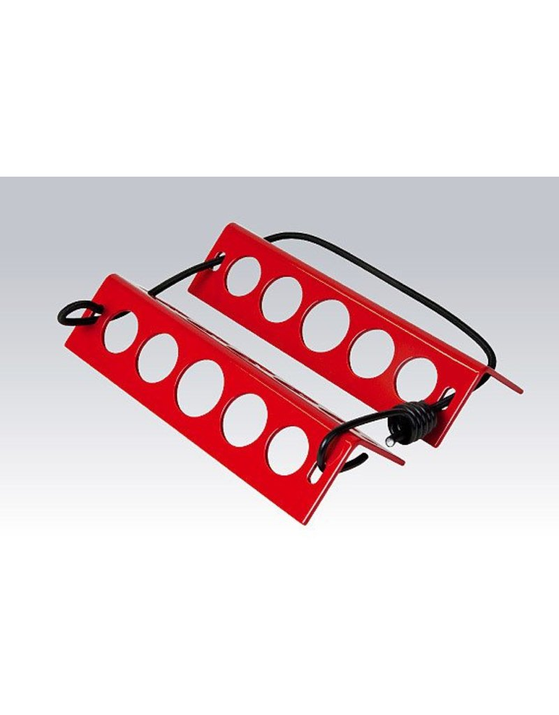 METAL HANDY CHOCK (YELLOW OR RED)