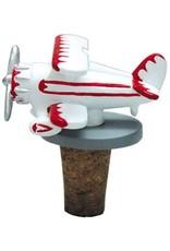 Biplane Bottle Stopper