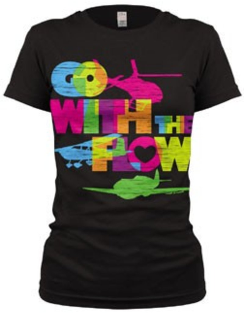 Go With The Flow Girls Youth Shirt