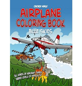 Chicken Wings, Blue Skies Coloring Book