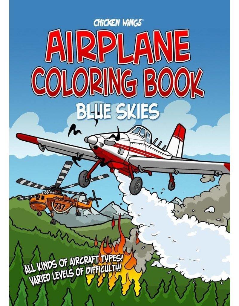 Chicken Wings, Blue Skies Coloring Book