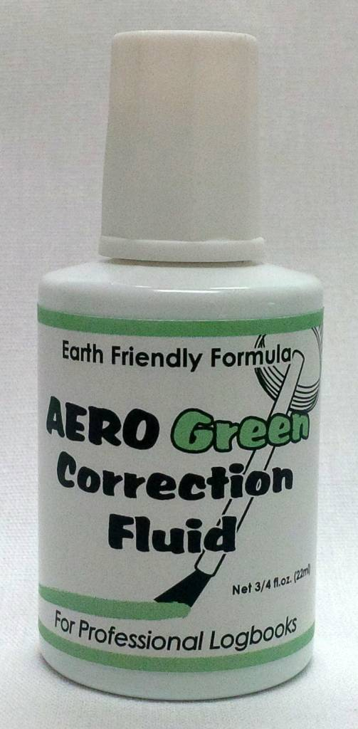 Aero Green Correction Fluid