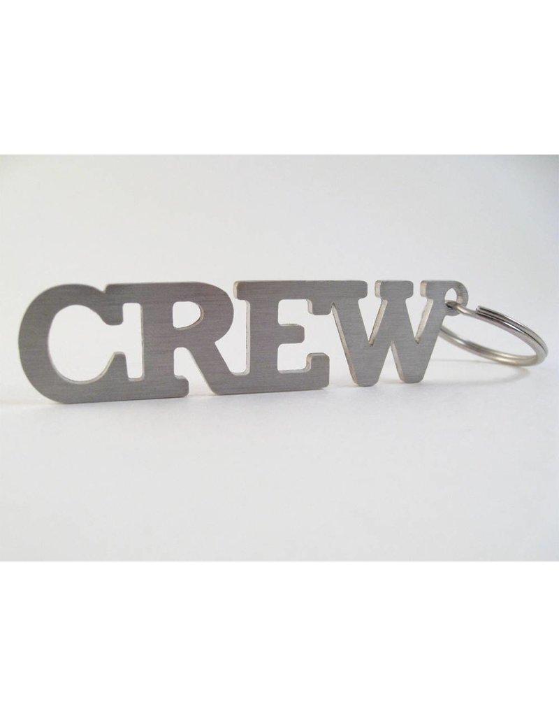 CREW Stainless Steel Keychain