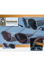 PilotShields Pro Sunglasses, Gray-Green