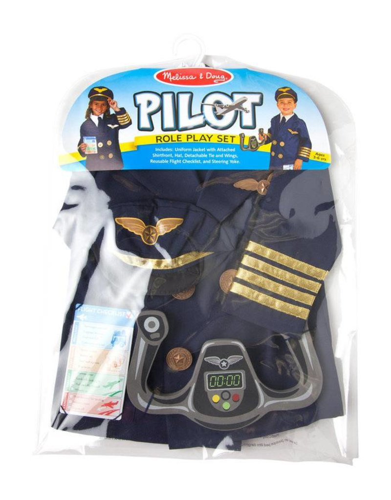 Melissa & Doug PILOT Role Play Set (Age 3 - 6 years)