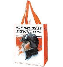 LADY PILOT Tote Bag