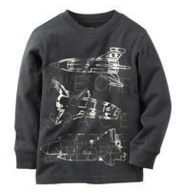 Space Explorer Tee Grey - Toddler