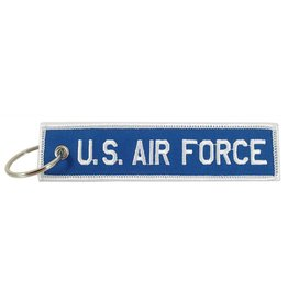 """""""U.S. AIR FORCE"""" EMBROIDERED KEYCHAIN"""