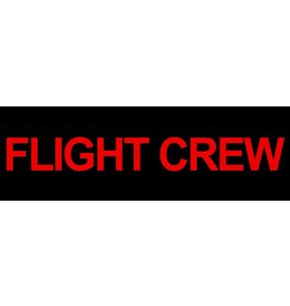 FLIGHT CREW Sticker