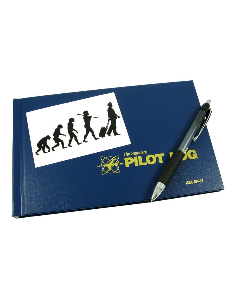 EVOLUTION OF THE PILOT Sticker