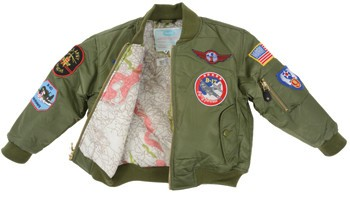 MA1 FLIGHT JACKET GREEN W PATCHES - Pilot Outfitters d152eae557a