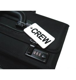 CREW Tag, Gelflex Double Sided WHITE