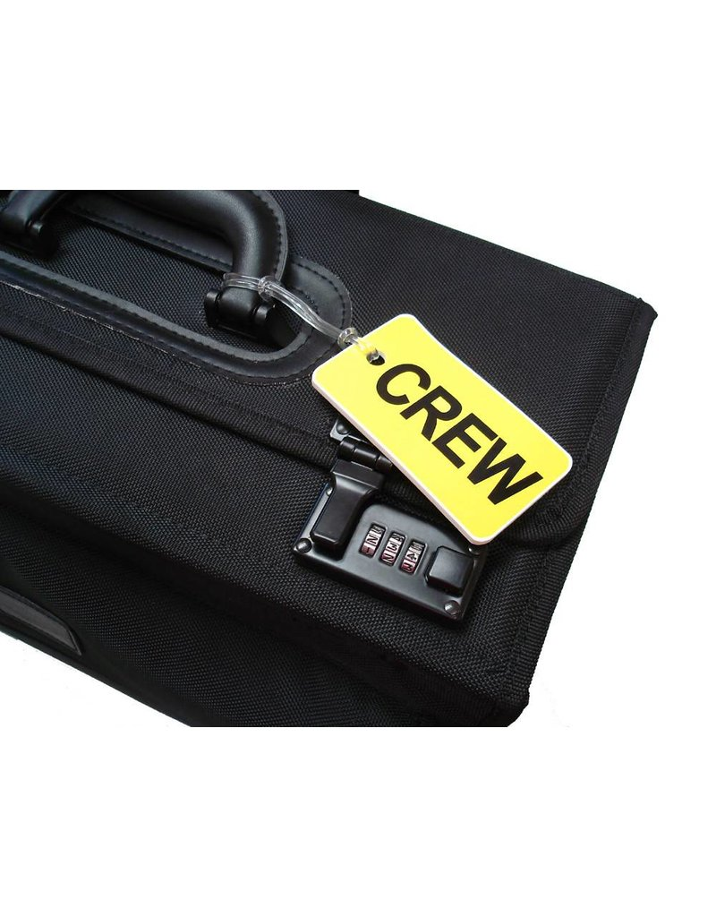 CREW Tag, Gelflex Double Sided YELLOW