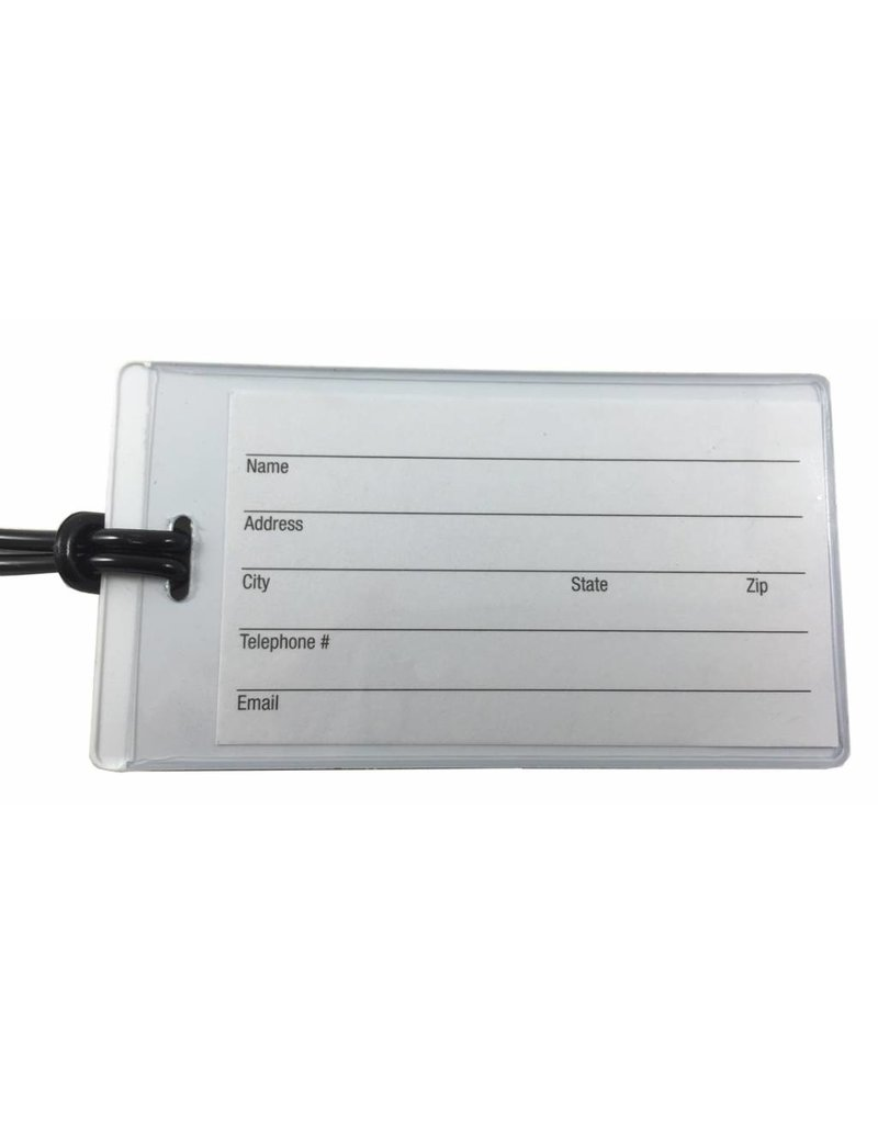 Ultra Thin CREW Tag with Contact Card