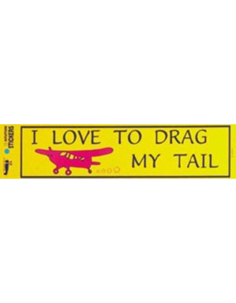 DRAG MY TAIL Sticker