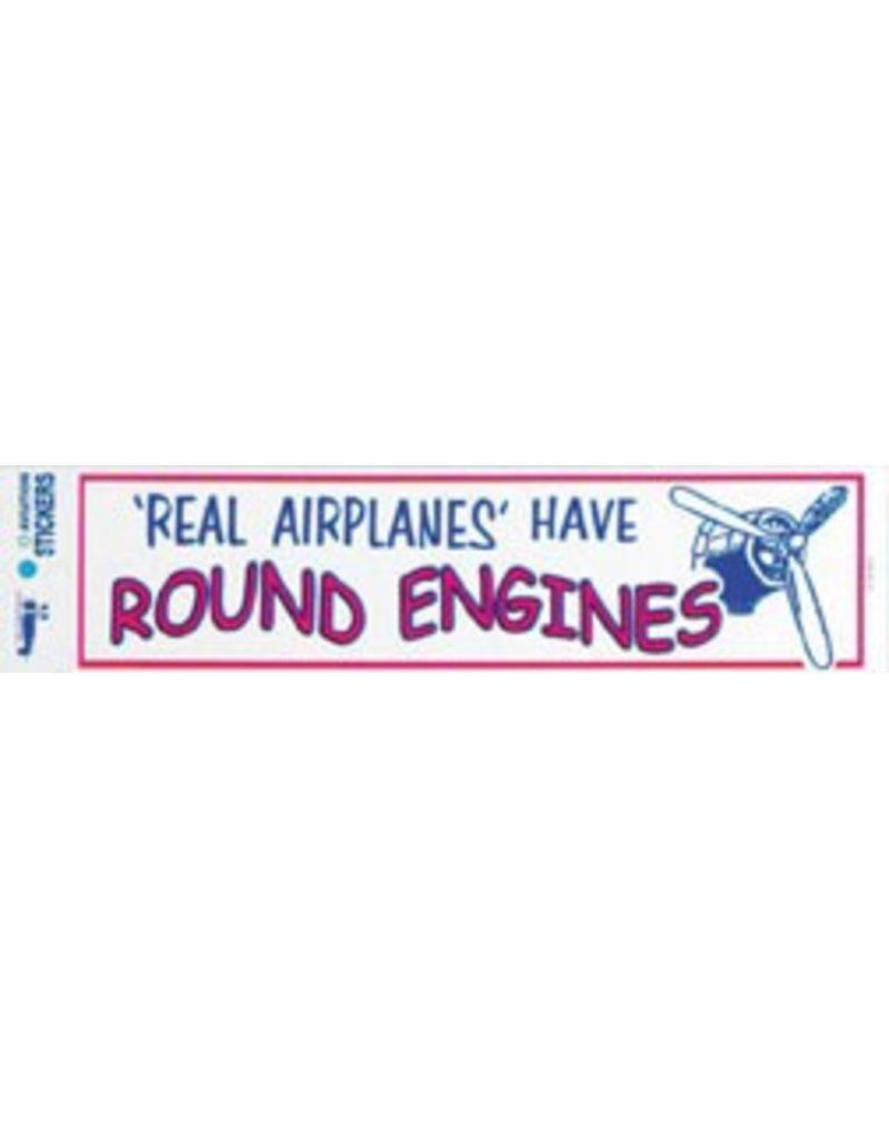 ROUND ENGINES Sticker
