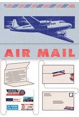 Aero Gram Notecards, 2 Prop, Blue