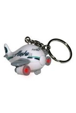ALASKA AIRPLANE keychain