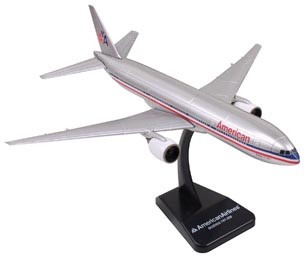 E-Z MODELS AMERICAN AIRLINES BOEING 777