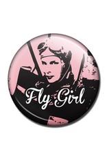 FLY GIRL Fridge Magnet