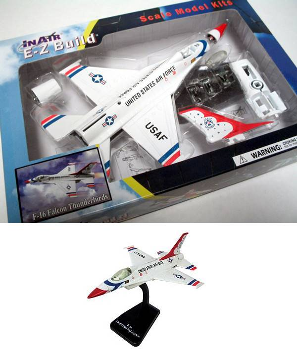 E-Z MODELS USAF F-16 FALCON THUNDERBIRDS