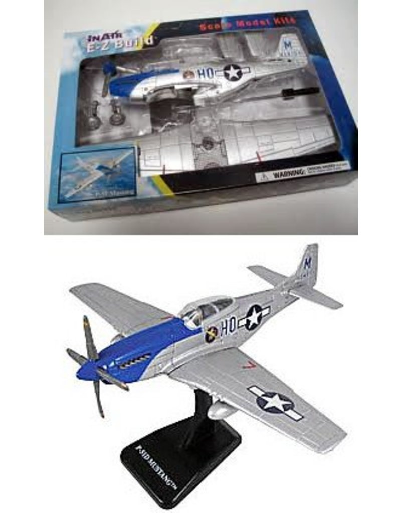 E-Z MODELS P-51D MUSTANG
