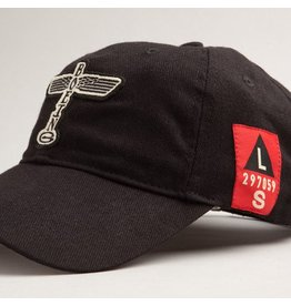 RED CANOE B17 CAP - Black