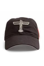 RED CANOE B17 CAP - Black