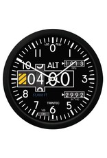 WALL CLOCK, ALTIMETER, 3060 SERIES 10""
