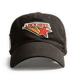 RED CANOE LOCKHEED Cap - Black