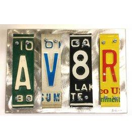 AV8R Original Aluminum Sculpture by Jon Grauman