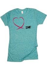 FLYING HEART Ladies Shirt