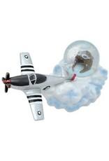 P-51 ON CLOUD Water Globe