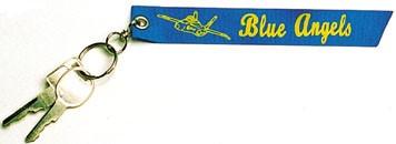 BLUE ANGELS Ribbon Keychain