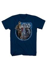 Stars Wars Tri Bot Ring Boys T-Shirt