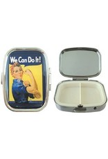 Rosie The Riveter Pill Box