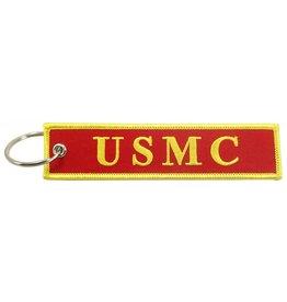 """""""U.S.M.C"""" EMBROIDERED KEYCHAIN"""