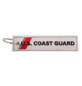 U.S. Coast Guard EMBROIDERED KEYCHAIN