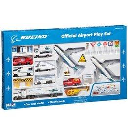 AIRPORT PLAY SET, 24 PIECE, BOEING CIV