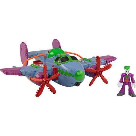 DC Super Friends Imaginext The Joker Plane Figure Set