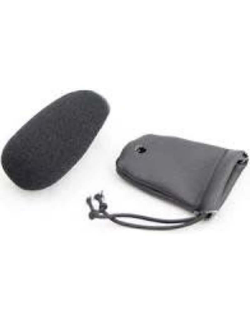 Leather Mic Muff / Cover for Electret Mic